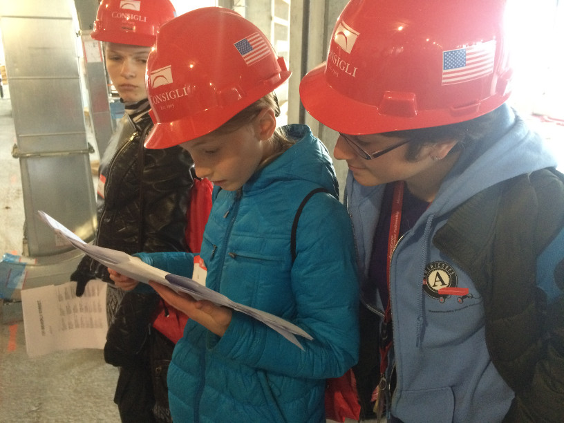 Ameri Corps Mpf Science Club For Girls Consigli Construction Field Trip Blueprints Resize